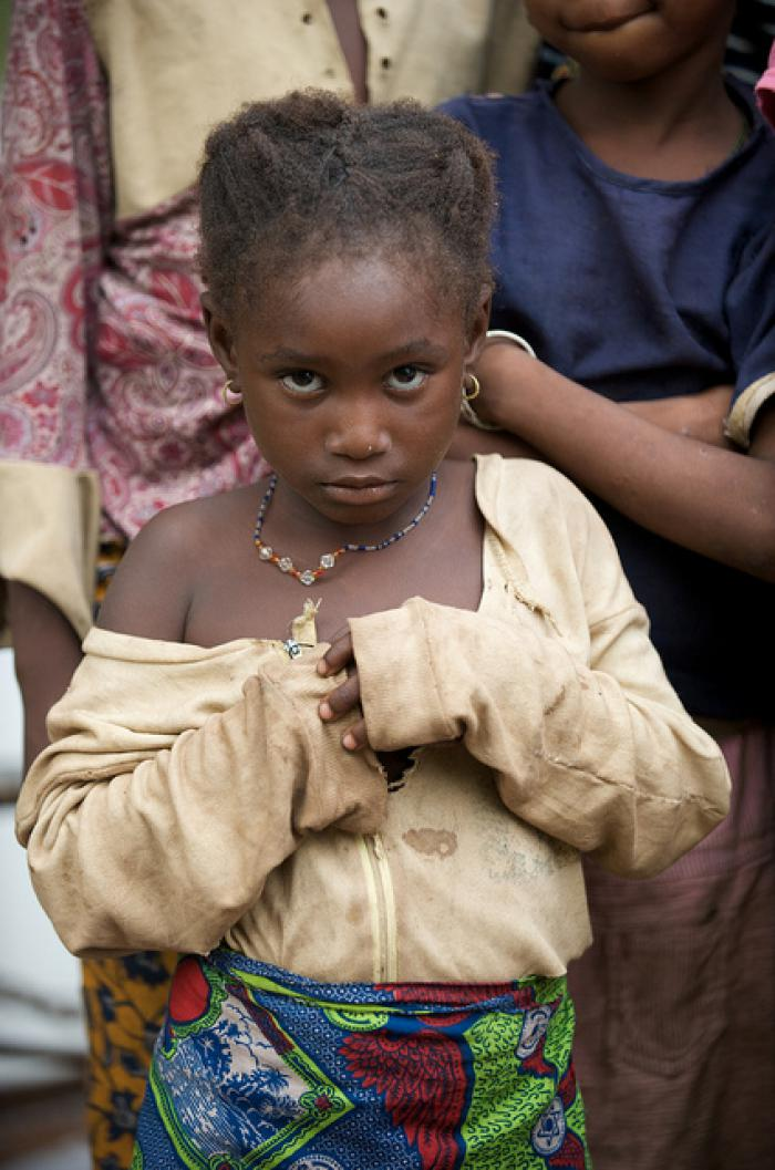 Girl in Mali - Photo by Julien Harneis