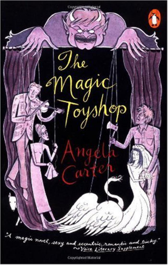 The Magic Toyshop Cover