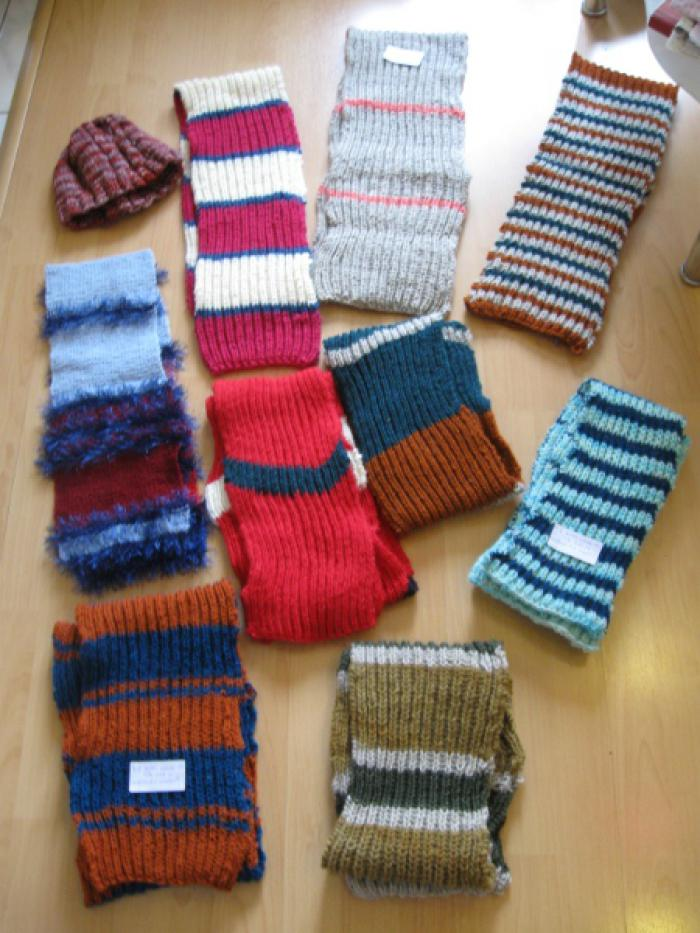 Charity Scarves 2011