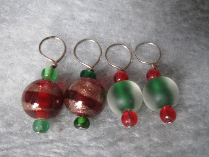 Christmas 2009 stitchmarkers