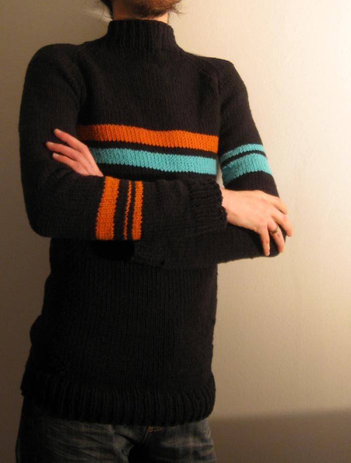 Eccentric sweater