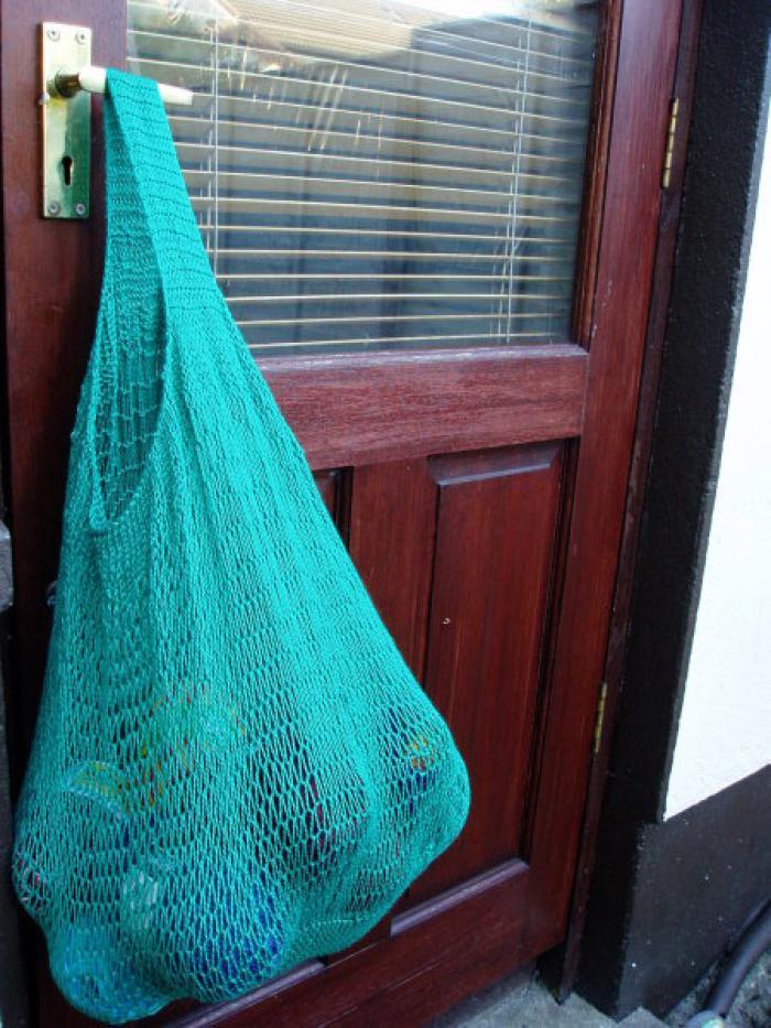 Emerald String Bag