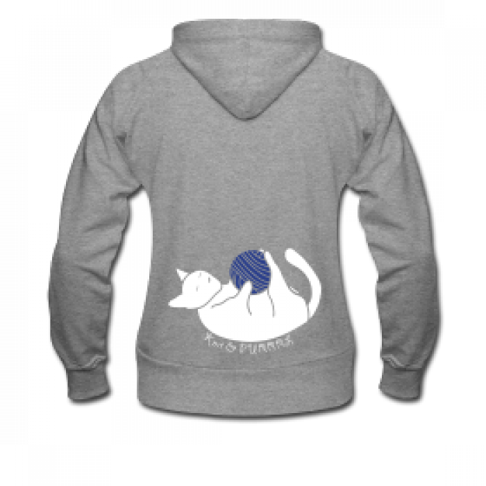 Knit and purrl hoodie