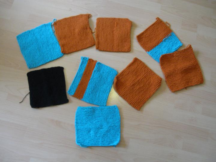 Knit a Squillion squares