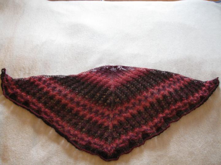 Tulppaani shawl