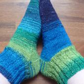 Lagoon socks