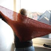 Alpaca shawl