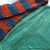 Woolen scarf & preemie blanket