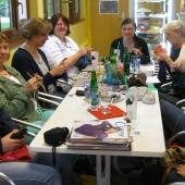 The knitters in WWKIP